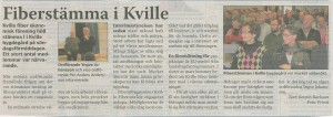 Tidningsurklipp Strömstadstidningen